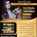 WhitGlutathione skin whitening tabletsening course